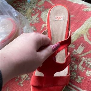 UGG heels wedges only trade on still in bag now